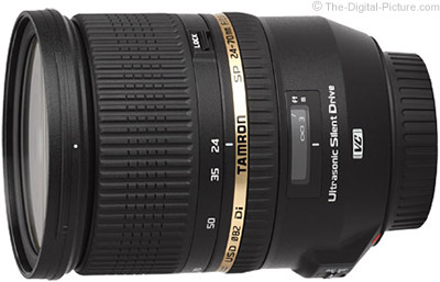 Tamron Increases 24-70mm f/2.8 VC Mail-In Rebate to $200.00