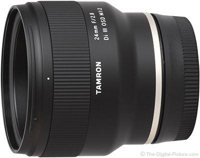 Tamron 24mm f/2.8 Di III OSD Lens