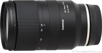 Tamron 28-75mm f/2.8 Di III RXD Lens