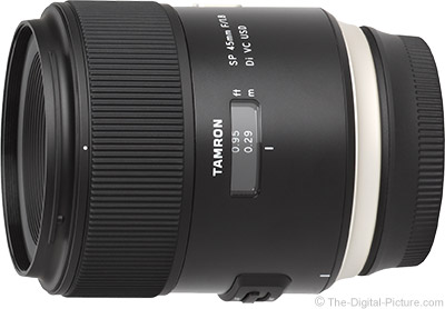 Still Live: Tamron SP 45mm f/1.8 Di VC USD Lens - $399.00 Shipped (Reg. $599.00)