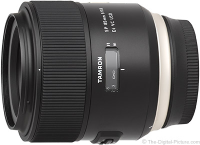 Tamron SP 85mm f/1.8 VC USD Lens