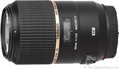 Tamron 90mm f/2.8 Di VC USD Macro Lens
