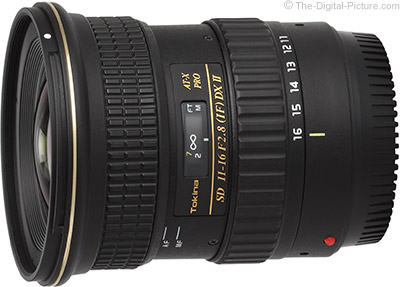 Tokina 11-16mm f/2.8 AT-X PRO DX-II Lens