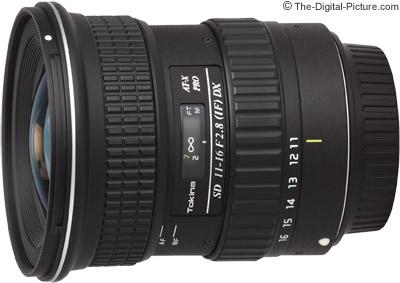 Tokina 11-16mm f/2.8 AT-X Pro DX Lens