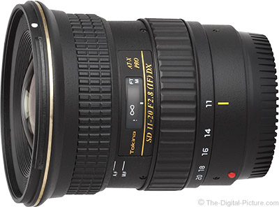 Tokina 11-20mm f/2.8 AT-X Pro DX Lens