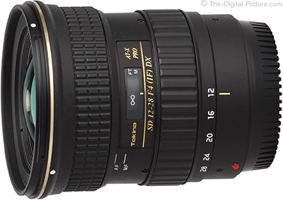 Tokina 12-28mm f/4.0 AT-X Pro DX Lens