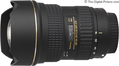 Tokina 16-28mm f/2.8 AT-X Pro FX Lens