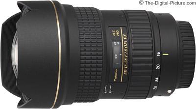 Tokina 16-28mm f/2.8 AT-X Pro FX Lens