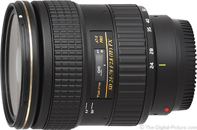 Tokina 24-70mm f/2.8 AT-X Pro FX Lens