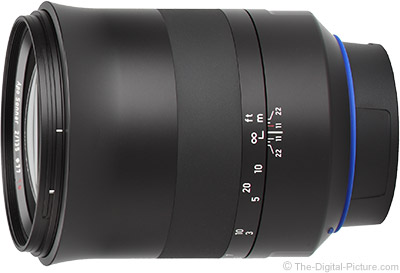 Zeiss 135mm f/2 Milvus Lens