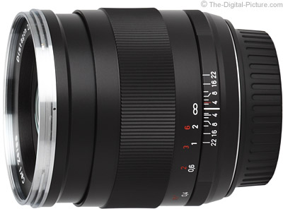 ZEISS Distagon T* 25mm f/2.0 ZE Lens for Canon