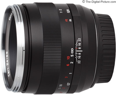 The Zeiss 50mm f/2.0 Makro-Planar T* ZE Lens