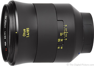 Zeiss 85mm f/1.4 Otus Lens