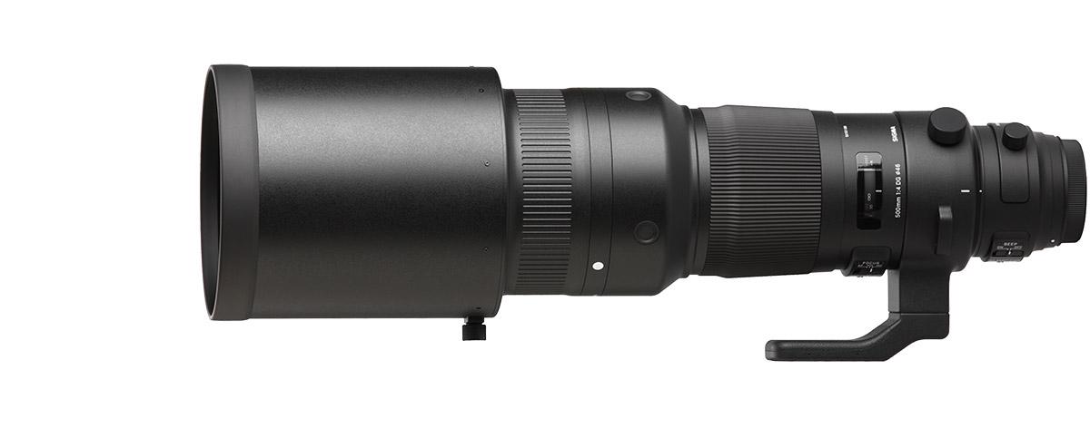Sigma 500mm f/4 DG OS HSM Sports Lens
