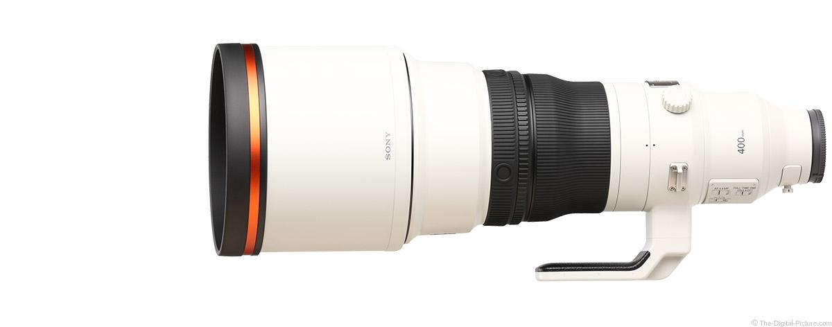 Sony FE 400mm f/2.8 GM OSS Lens