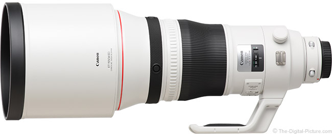 Canon EF 400mm f/2.8L IS III USM Lens Product Images