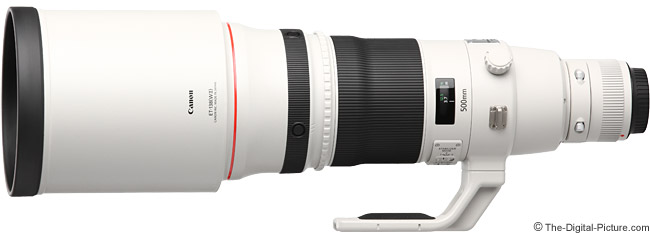 Canon EF 500mm f/4L IS II USM Lens Product Images