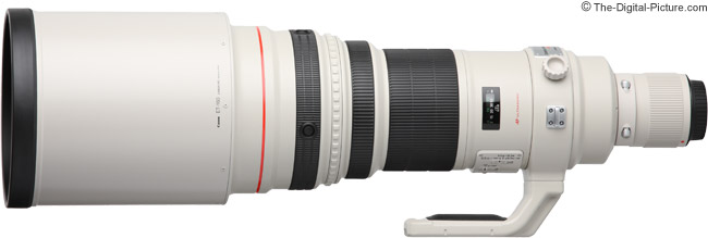 Canon EF 600mm f/4L IS USM Lens Product Images