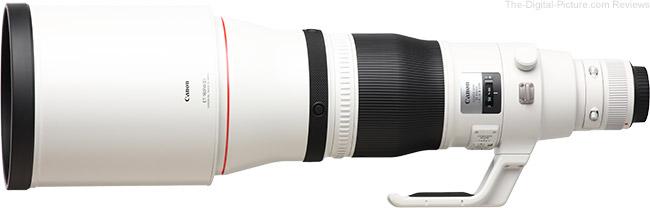 Canon EF 600mm f/4L IS III USM Lens Product Images