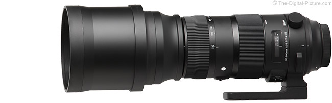 Sigma 150-600mm f/5-6.3 DG OS HSM Sports Lens Product Images