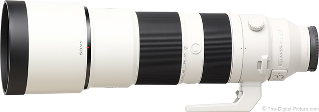 Sony FE 200-600mm f/5.6-6.3 G OSS Lens Product Images