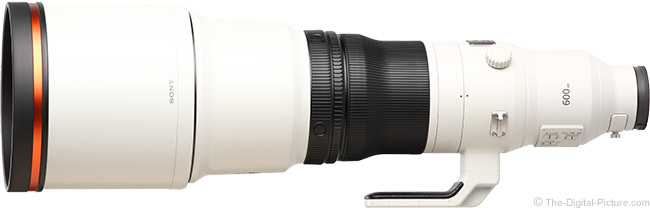 Sony FE 600mm f/4 GM OSS Lens Product Images