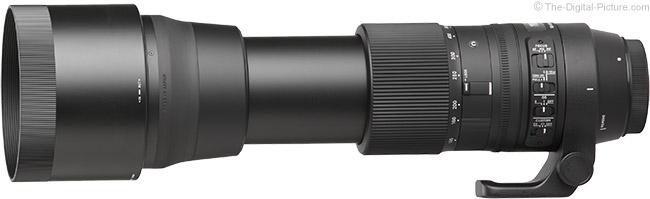 Sigma Gegenlichtblende 150-600 mm F5,0-6,3 f/ür DG OS HSM Contemporary LH1050-01