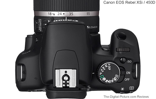 Canon EOS Rebel XSi / 450D Top Comparison