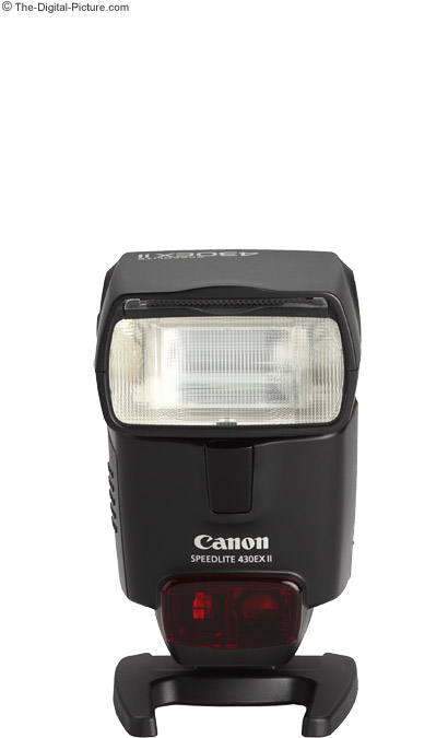 Canon Speedlite 430EX II Flash Comparison