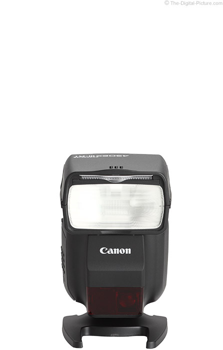 Canon Speedlite 430EX III-RT Flash Product Images