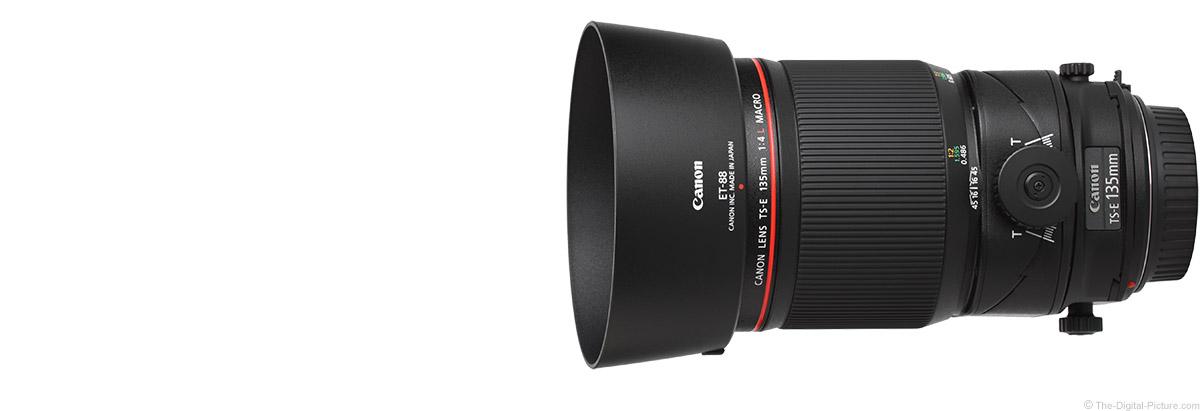 Canon TS-E 135mm f/4L Tilt-Shift Macro Lens