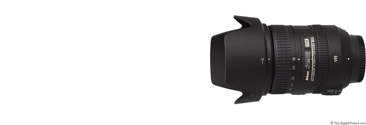 Nikon 18-200mm f/3.5-5.6G AF-S DX VR II Lens