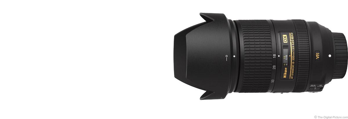 Nikon 18-300mm f/3.5-5.6G AF-S DX VR Lens