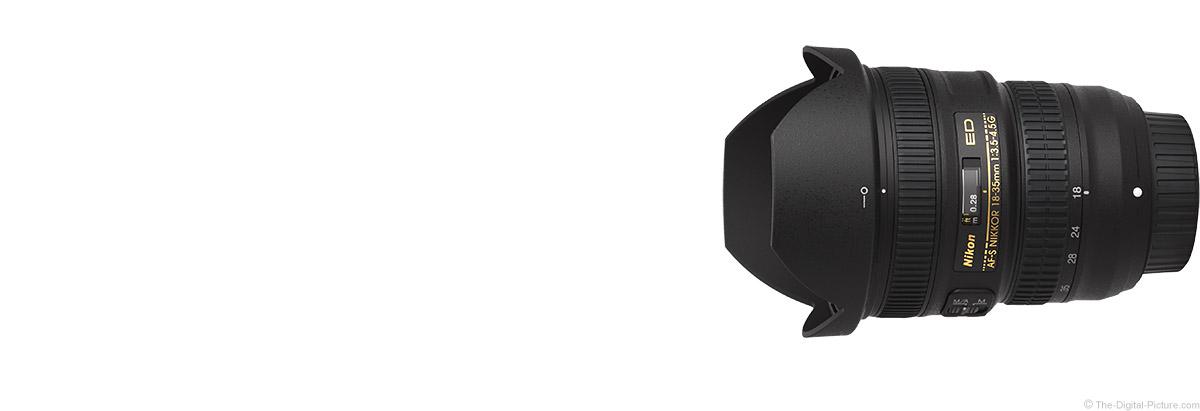 Nikon 18-35mm f/3.5-4.5G AF-S Lens