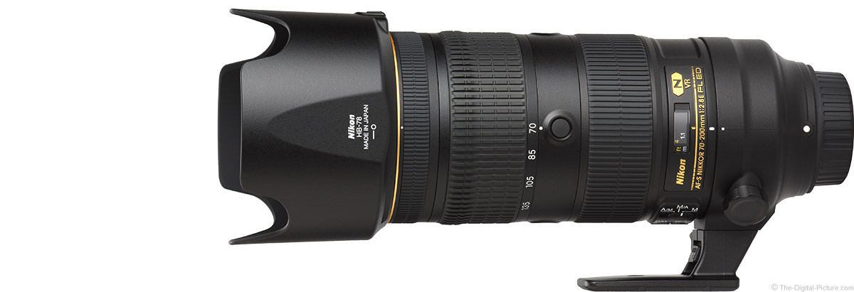 Nikon 70-200mm f/2.8E AF-S FL VR Lens