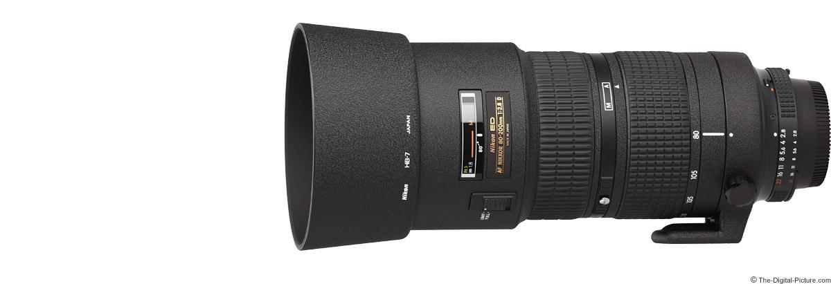 Nikon 80-200mm f/2.8D AF Lens