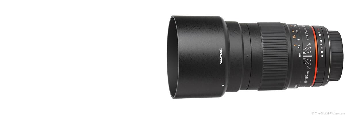 Samyang 135mm f/2 ED UMC Lens (Rokinon/Bower)