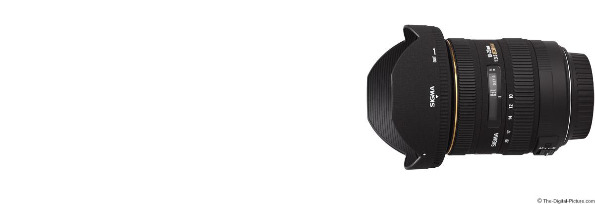 Sigma 10-20mm f/3.5 EX DC HSM Lens
