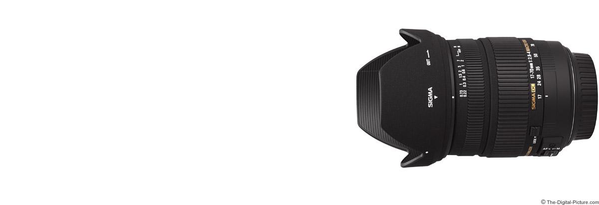 Sigma 17-70mm f/2.8-4 DC Macro OS Lens