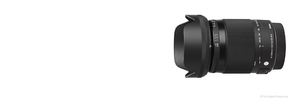 Sigma 18-300mm f/3.5-6.3 DC OS HSM C Lens