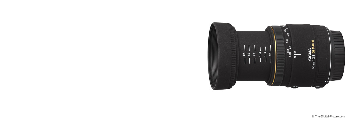 Sigma 50mm f/2.8 EX DG Macro Lens