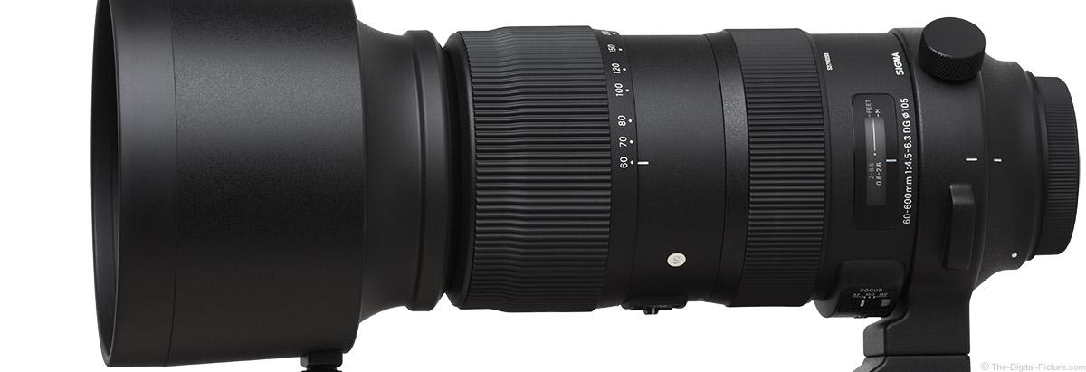 Sigma 60-600mm f/4.5-6.3 DG OS HSM Sports Lens