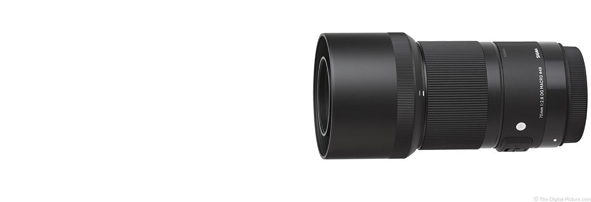 Sigma 70mm f/2.8 DG Macro Art Lens