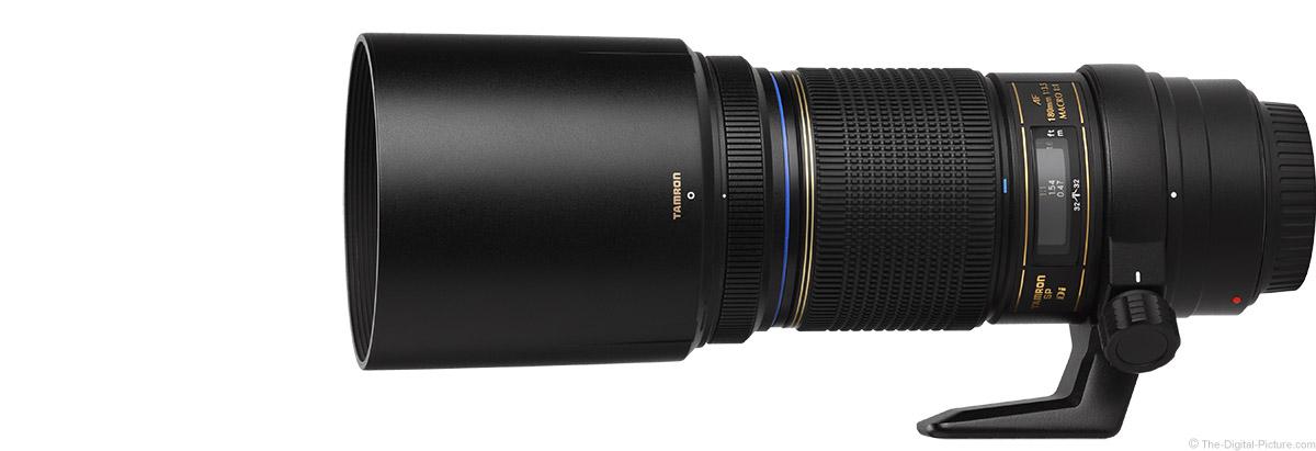 Tamron 180mm f/3.5 Di Macro Lens