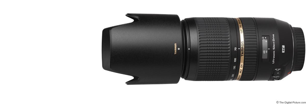 Tamron 70-300mm f/4-5.6 SP Di VC USD Lens