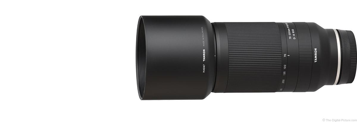 Tamron 70-300mm f/4.5-6.3 Di III RXD Lens
