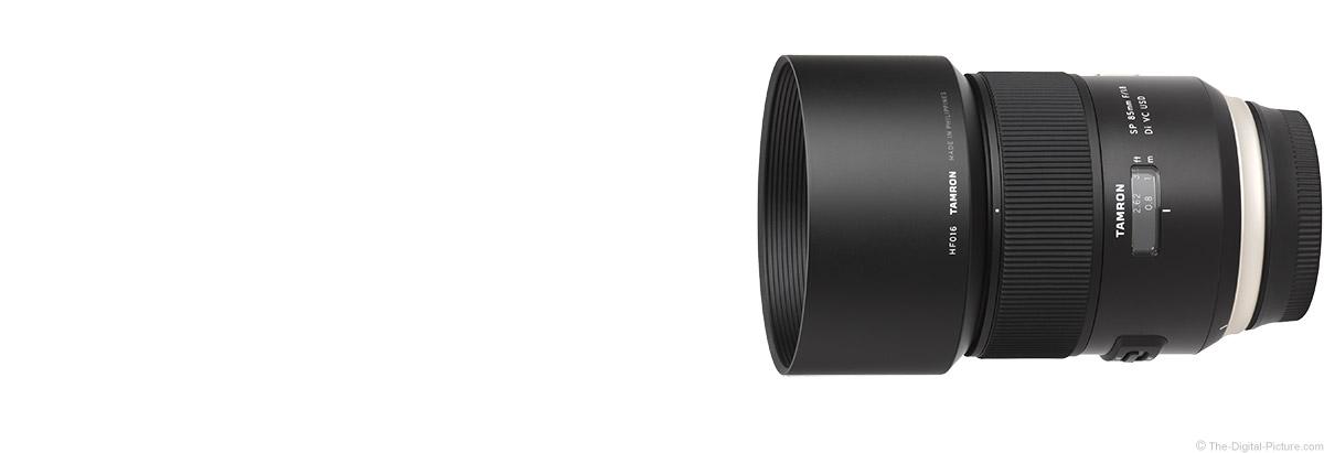 Tamron 85mm f/1.8 Di VC USD Lens