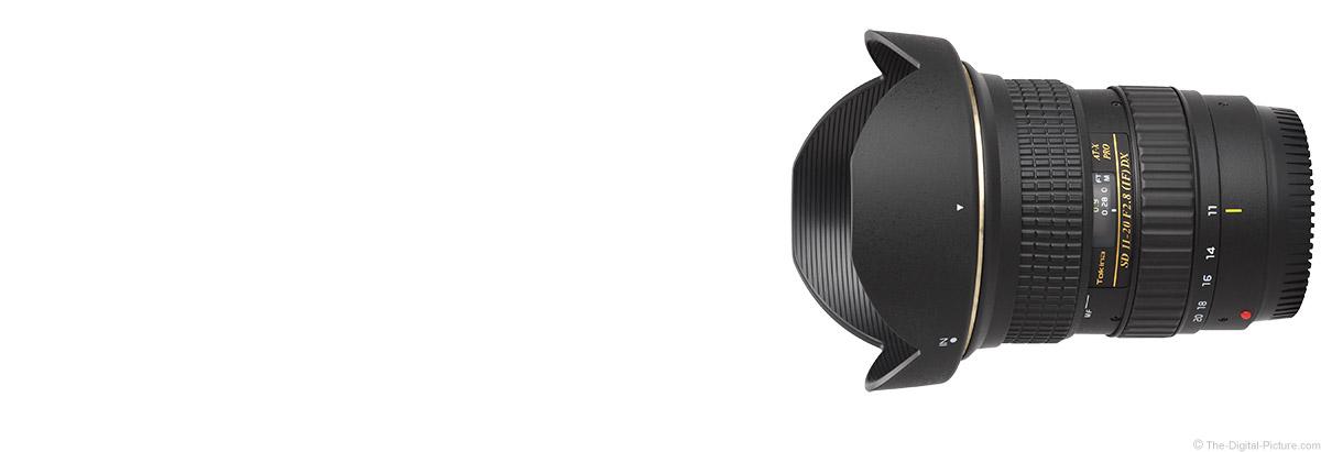 Tokina 11-20mm f/2.8 AT-X Pro DX Lens