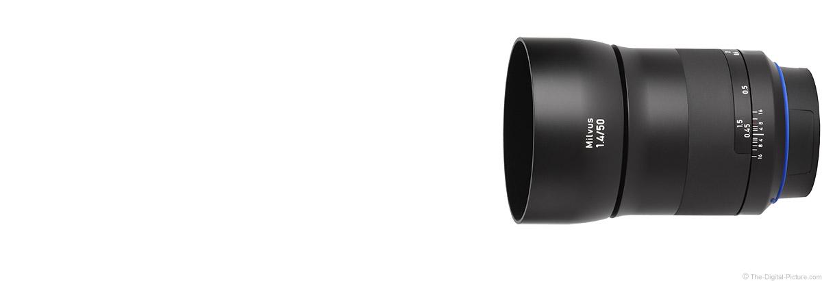 Zeiss 50mm f/1.4 Milvus Lens