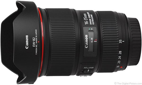 EW-88 Flocking Lens Hood /> Canon Ef 16-35mm F//2.8L II USM
